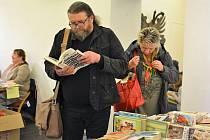 V galerii muzea v České Lípě se v sobotu 5. října konala burza knih.