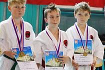 Team ve složení Milan Zítko, Lukáš Pevný a Daniel Razák nakonec získal bronz.