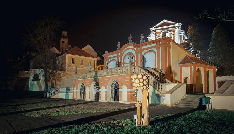 Zámek Klášterec nad Ohří.