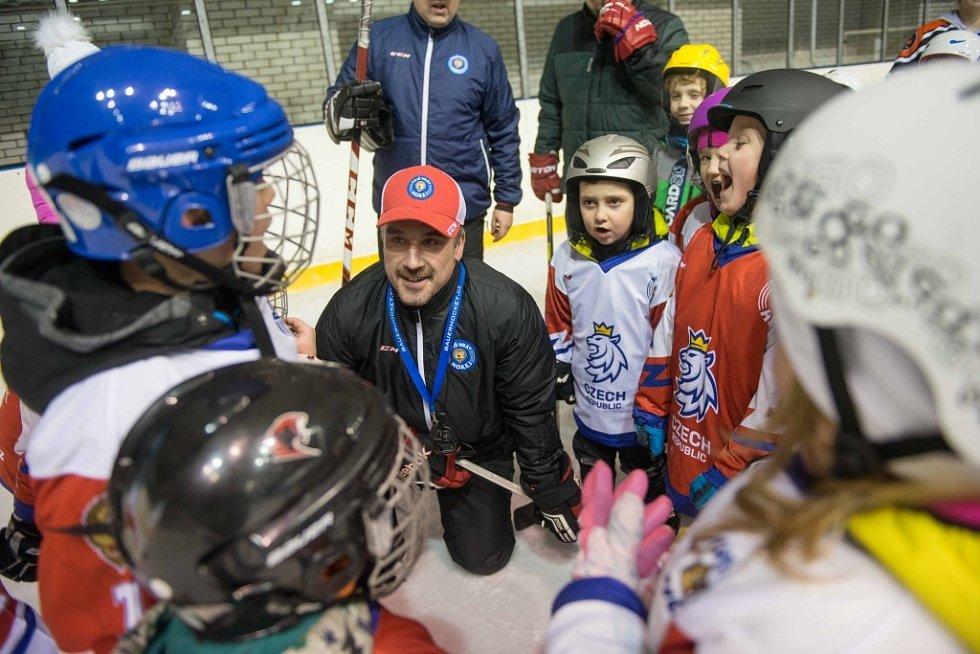 Akce Týden s hokejem na zimním stadionu v České Lípě.