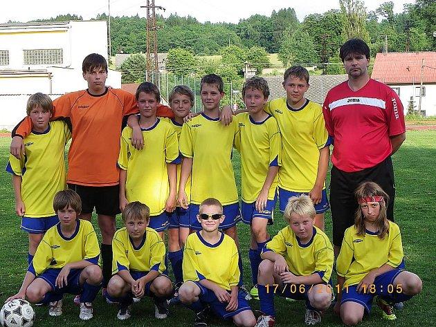 Vítězný tým z Jablonného.