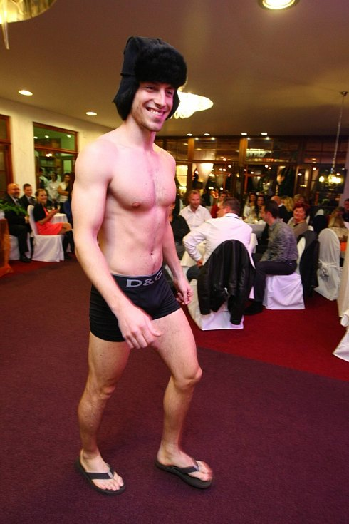 Muž roku 2011 a model Martin Gardavský.