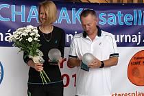 Helena Suková a Cyril Suk se ve Splavech představí během exhibice.