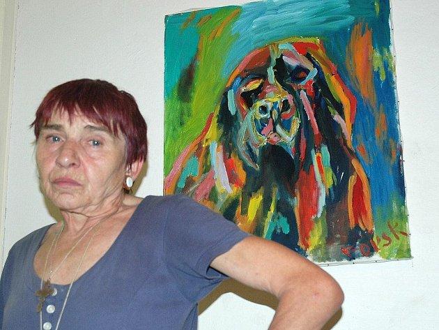 Malířka a básnířka Hana Fousková