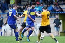 Květnové derby Mimoň - Stráž vyznělo pro domácí Jiskru (2:0).