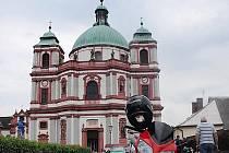 Bazilika sv. Vavřince a sv. Zdislavy v Jablonném v Podještědí.