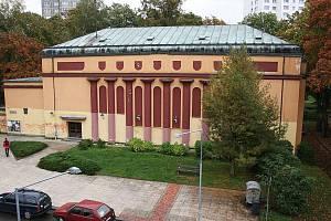 Městské kino v Novém Boru.