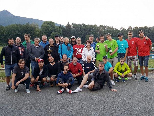 Letošního ročníku Mimoňského míčového sedmiboje se zúčastnilo 16 dvojic.