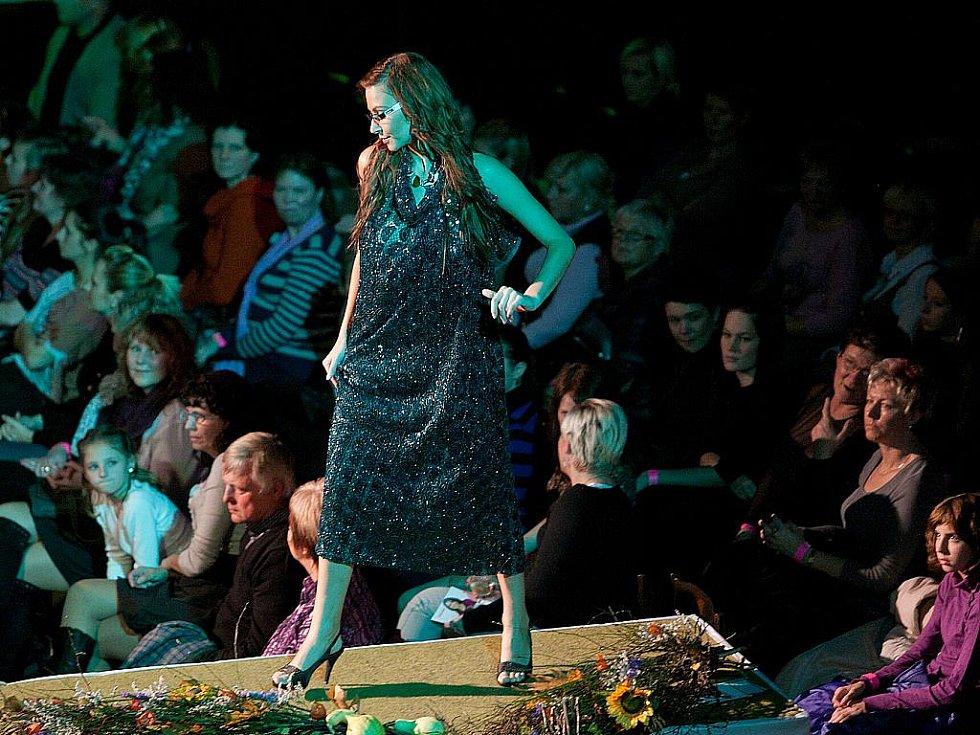 Dance fashion show nabídla módní přehlídku, taneční vystoupení i ukázky práce skvělých kadeřníků.