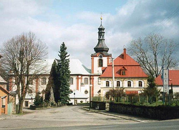 Ilustrační foto - Kostel v Kamenickém Šenově