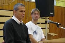 Bývalý sparťanský trenér Vítězslav Lavička besedoval s žáky i učiteli ZŠ Jižní v České Lípě