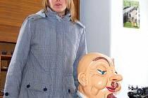 Nejen o návštěvníky Muzea masek Eduarda Helda v Zákupech se stará Pavla Rydygrová.