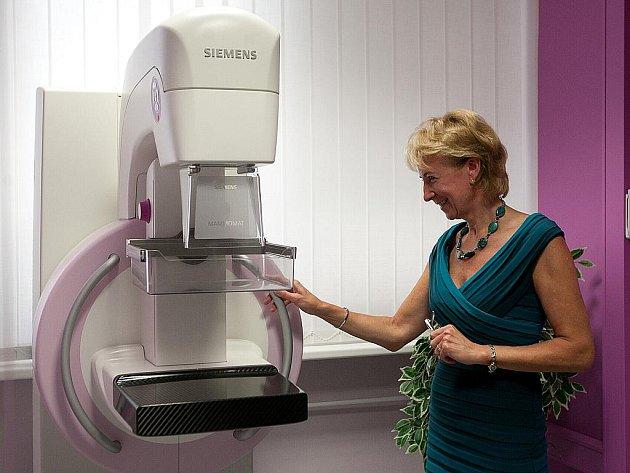 Nový mamograf je přístroj určený k prevenci nejčastějšího ženského karcinomu karcinomu prsu. Bude sloužit především pacientkám z Českolipska. Přispěla na něj celá řada dárců Nadace Preciosa, obce a města Českolipska i místní firmy.