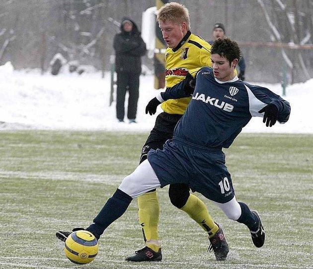 Radim Věchet vstřelil druhý gól svého týmu a pomohl tak k vítězství nad týmem Štětí.