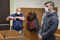 Petr Krejčiřík u soudu v České Lípě