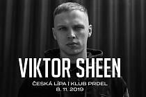 Viktor Sheen v České Lípě.