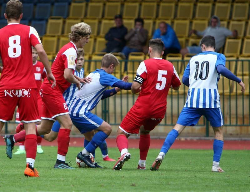 U 19: Arsenal Česká Lípa - FK Ústí nad Labem 5:3.