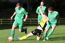 Fotbalisté Nového Boru jsou po podzimní části sezony na 12. místě tabulky divize C.