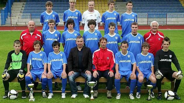Žáci českolipského Arsenalu postoupili do divize.