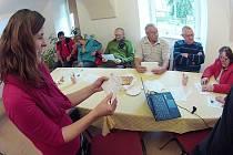 Od října sbírá Blanka Horáčková od místních informace o tom, co lidé ve kterém domě umí.