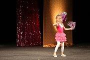 V Městském divadle v Novém Boru proběhlo v sobotu finále 4. ročníku soutěže Sluníčko Deníku pro talentované dívky ze severních Čech. Vyhrála osmiletá Beáta Brádková z Roudnice nad Labem.