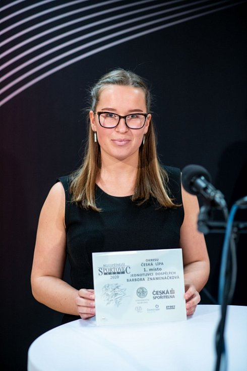 V České Lípě proběhlo on-line vyhlášení Nejúspěšnějšího sportovce Českolipska za rok 2020.