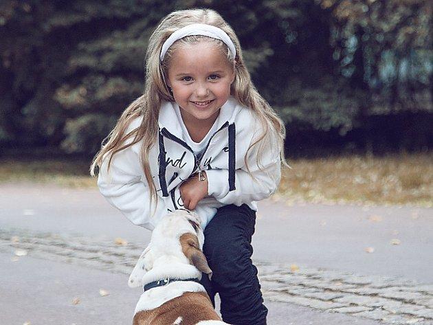 10. Nicol Mikeschová - 7let, Velké Březno.