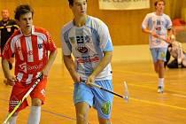 Junioři České Lípy udělali důležité kroky k účasti v play off. Na snímku uprostřed je Milan Tichý.
