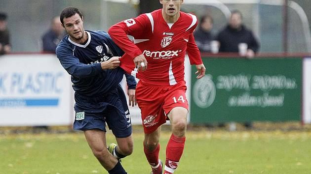 Třetiligový Arsenal Česká Lípa prohrál třetí zápas po sobě. Tentokrát podlehl 1:3 domácímu FK Pardubice.