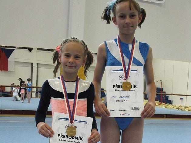 Tereza a Erika Holinkovy vyhrály ve svých kategoriích.