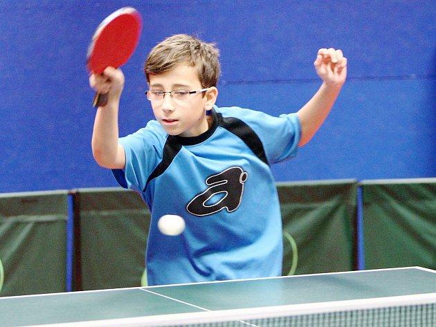 Dvanáctiletý Petr Korp je v KP 1. třídy na soupisce Kamenického Šenova.