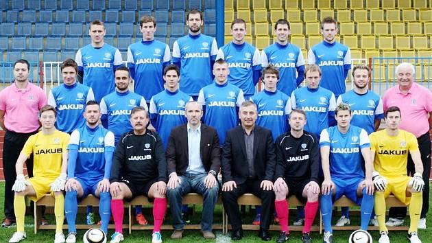 Mužstvo českolipského Arsenalu v podzimní sezoně 2012