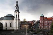 Novoborské náměstí.