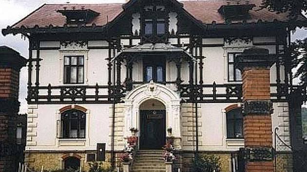 Sídlo Městského klubu kultury ve Cvikově.