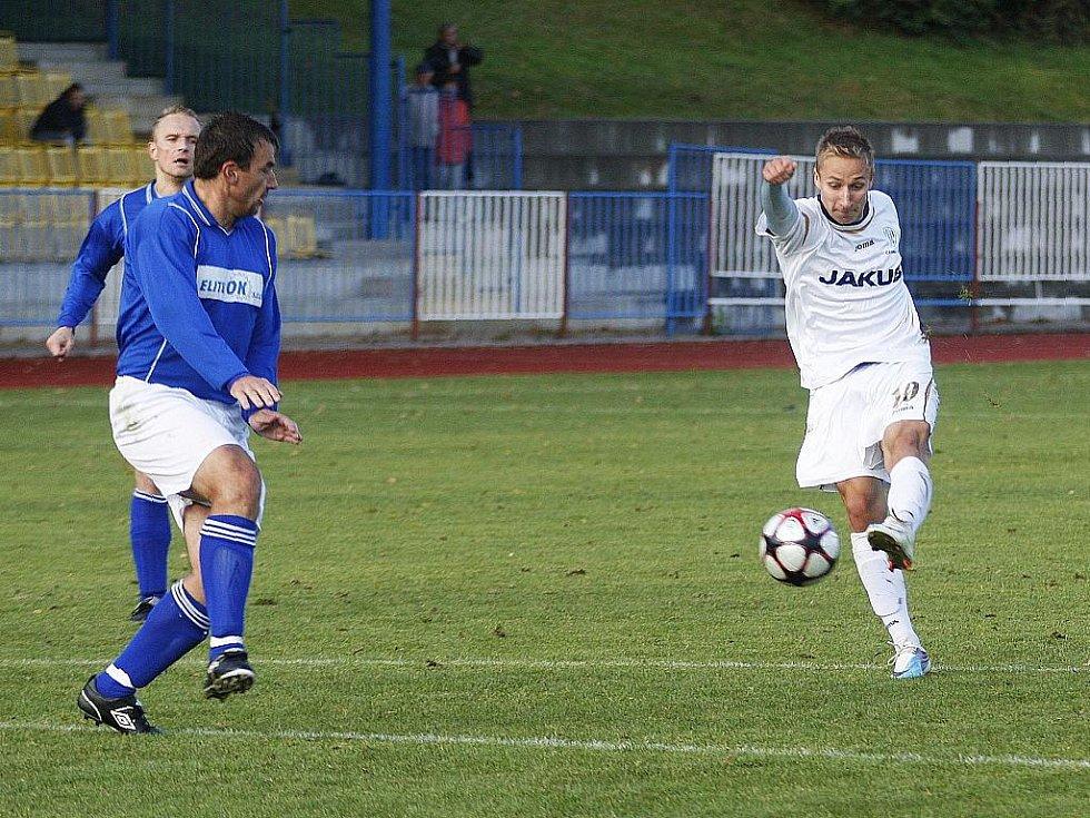 Českolipská rezerva hrála na domácí půdě 1:1 s Jabloncem nad Jizerou.