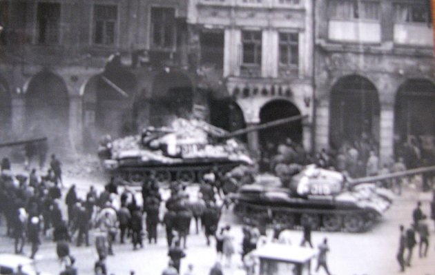 Liberecké náměstí: 21.srpna 1968