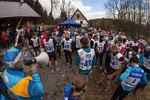 Účast na 8. ročníku Polevského běhu si nenechalo ujít rekordních 210 závodníků a závodnic.