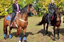 Třicet kilometrů stezek pro jízdu v koňském sedle najdete nově v okolí Brniště.