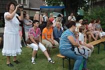 """Zábavné odpoledne """"Velké praní"""" se konalo u příležitosti 200. výročí založení místní kartounky."""