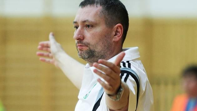 Trenér českolipských Démonů Karel Kruliš.