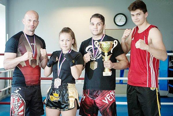 VIPER CLUB sklízí medailové úspěchy.