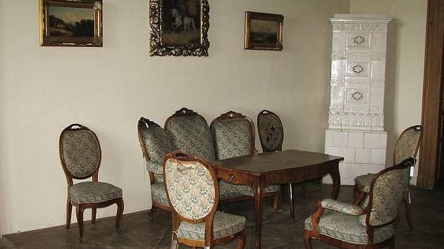 Salón arcivévodkyně Marie Terezy.