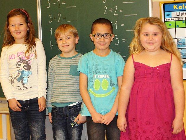 Žáci 1.třídy ZŠ Svor.