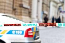 Policejní uzavírka kvůli hrozící bombě v budově České spořitelny ve Felberově ulici v Liberci a dalších městech.