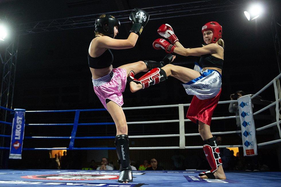 Bojovníci naplnili českolipskou sportovní halu.