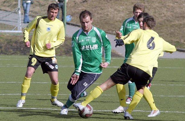 Fotbalisté Nového Boru.