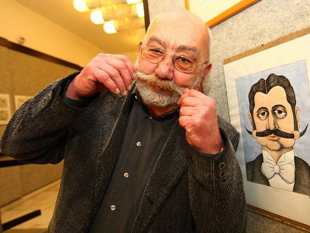 Autorem komiksu, který vychází upříležitosti sklářského sympozia IGS 2015, je sklář, výtvarník, karikaturista iučitel Jan Vobr.