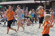 Ahoj léto. Tradiční rozloučení s létem v Novém Boru proběhlo v sobotu na koupališti.