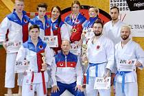 Českolipský oddíl se stal na šampionátu druhým nejúspěšnějším seniorským klubem v disciplíně kata.