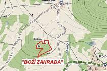 Korb v roce 1895 ve svých třiceti letech zakoupil parcelu na východním a jižním svahu kopce Dubina, ležícího uprostřed trojúhelníku tvořeného osadami Kolné, Rané a Taneček nedaleko Stvolínek.